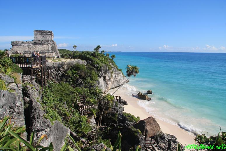 Древние города Майя - Тулум фото