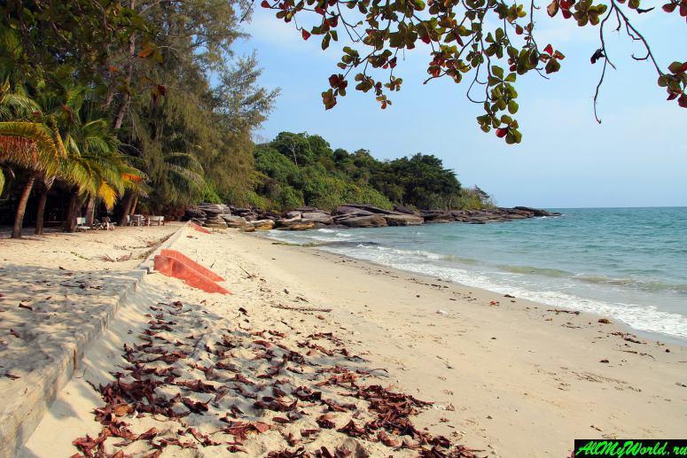 Камбоджа: пляжи Сиануквиля - Ратанак-бич (Ratanak Beach)