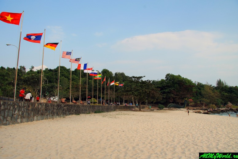 Камбоджа: пляжи Сиануквиля - Пляж Сокха (Sokha Beach)