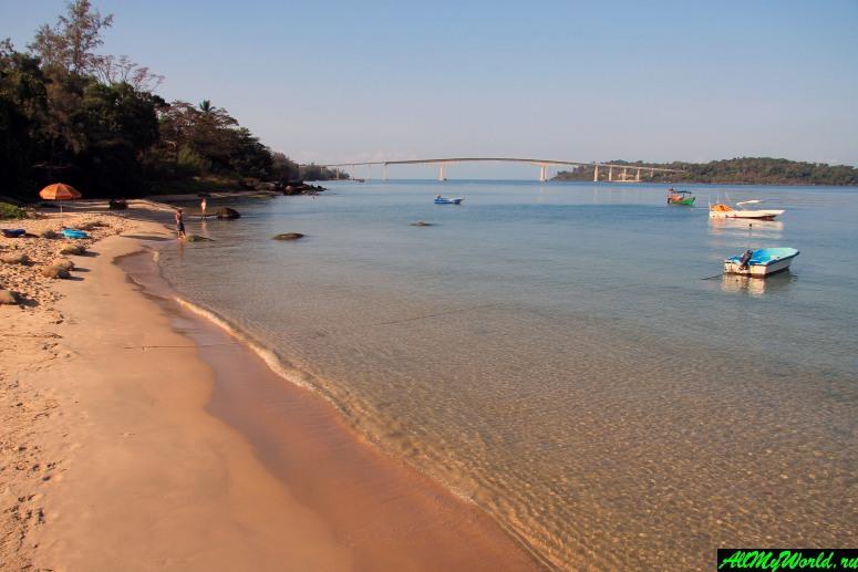Камбоджа: пляжи Сиануквиля - Виктори Бич (Victory Beach)