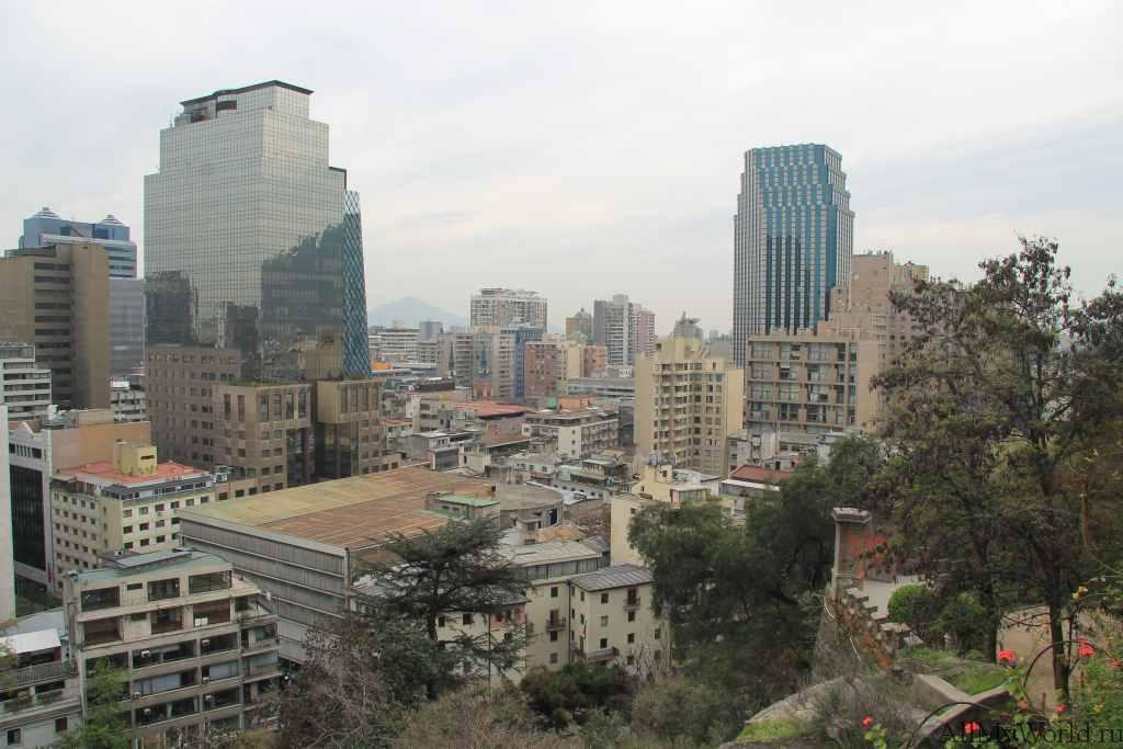 Сантьяго-де-Чили Санта-Лусия