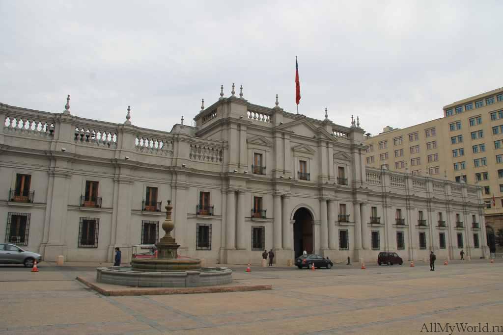 Сантьяго-де-Чили Ла-Монеда