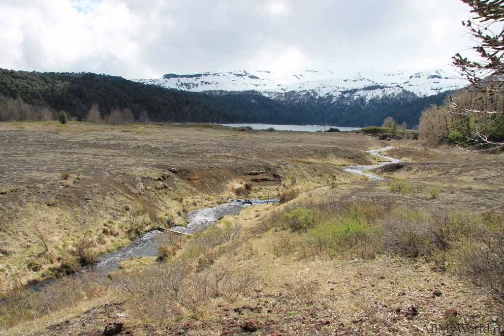 Chile national park Conguillo photo