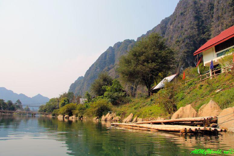 Достопримечательности Лаоса Ванг Вьенг (Ванг Виенг) фото