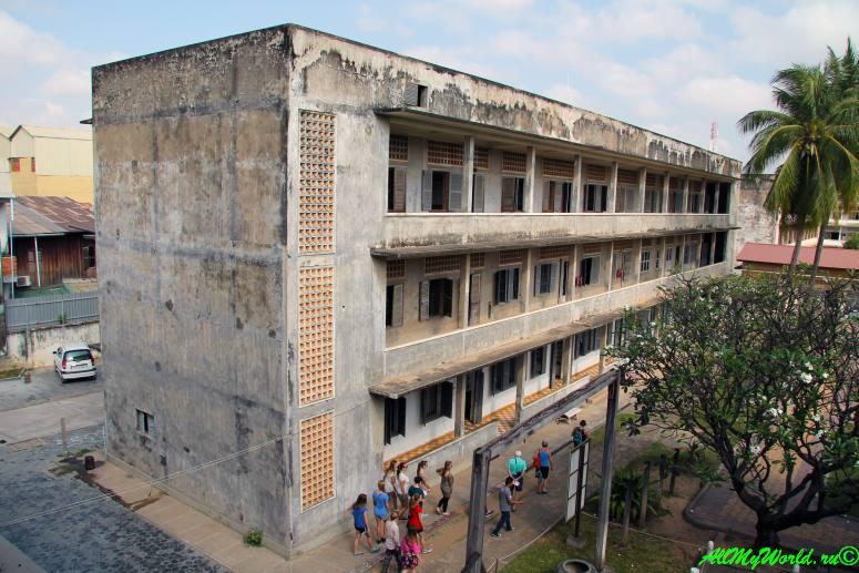 город Пномпень (Пном Пень) столица Камбоджи достопримечательности Музей геноцида Туолсленг