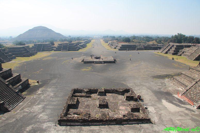 города ацтеков Теотиуакан фото