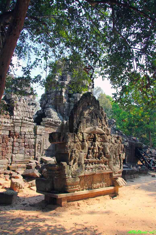 Достопримечательности Камбоджи: археологическая зона Ангкор фото