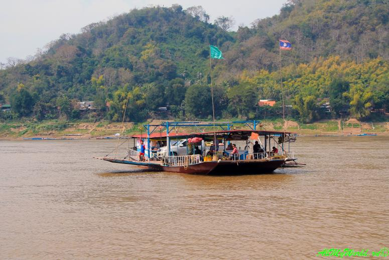 Луанг Прабанг Луангпхабанг достопримечательности фото река Меконг