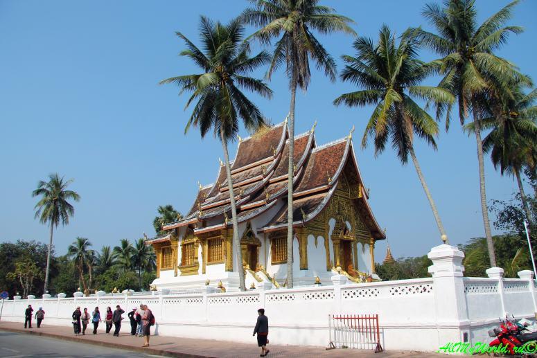 Луанг Прабанг Луангпхабанг достопримечательности фото - Королевский дворец