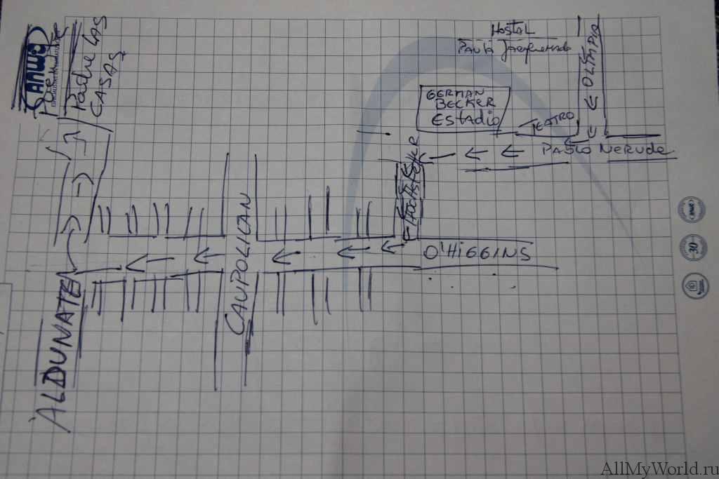 Temuco mapa