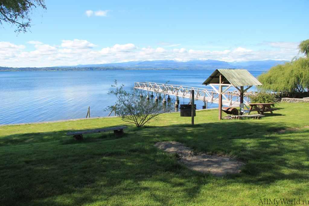 Чили регион озер фото