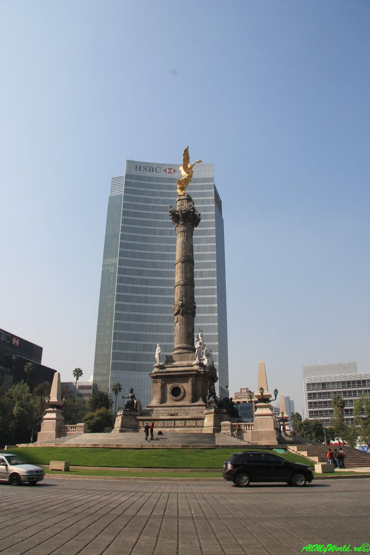 город мехико что посмотреть Ангел Независимости фото