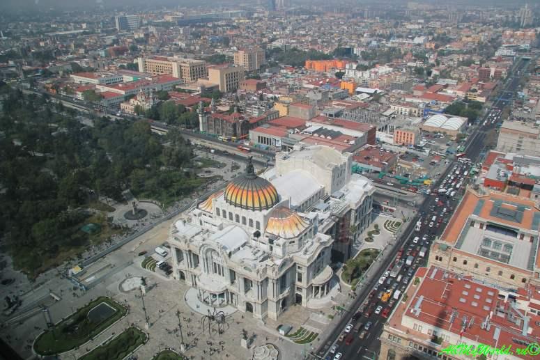 город мехико что посмотреть башня Torre Latinoamericana фото