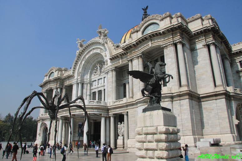 город мехико что посмотреть Дворец изящных искусств фото