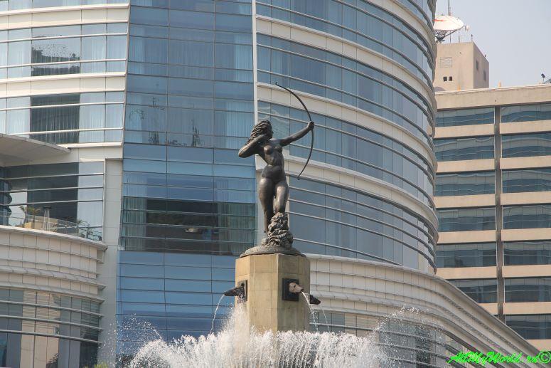 город мехико что посмотреть Диана-Охотница фото