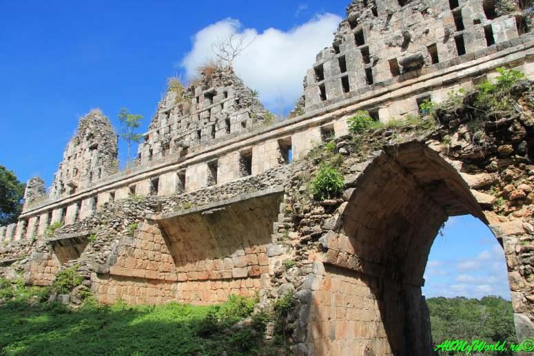 Мексика древние города майя Ушмаль фото