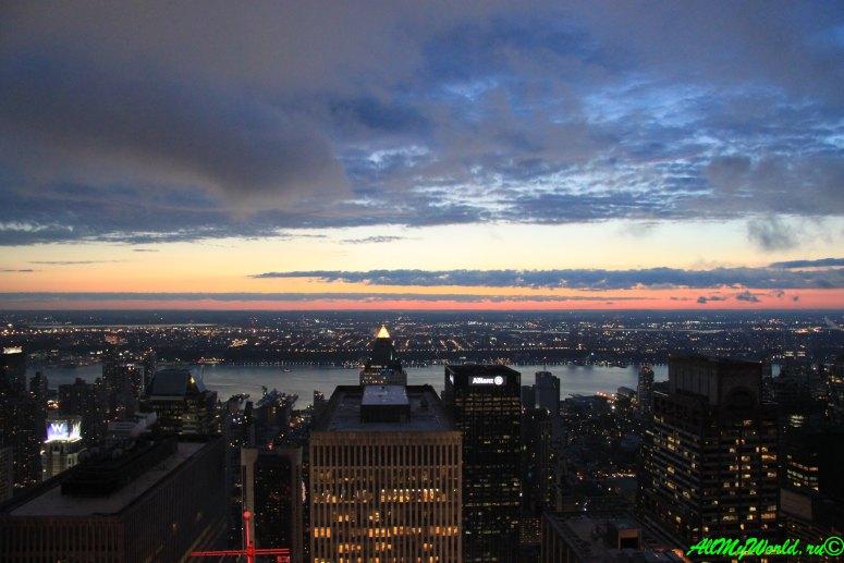 Небоскребы Нью-Йорка Рокфеллер-центр фото   достопримечательности Нью-Йорка