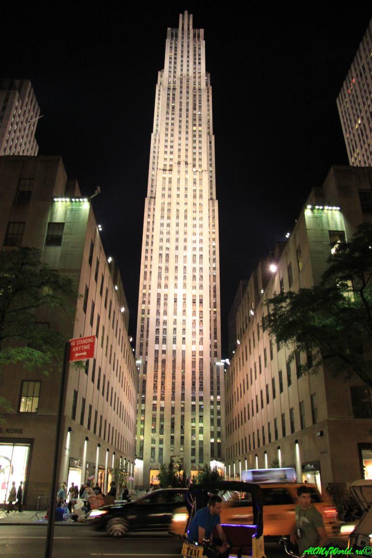 Небоскребы Нью-Йорка Эмпайр-стейт-билдинг фото | достопримечательности Нью-Йорка