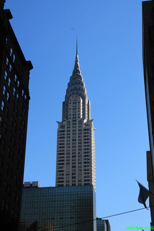 Небоскребы Нью-Йорка Крайслер-билдинг фото | достопримечательности Нью-Йорка