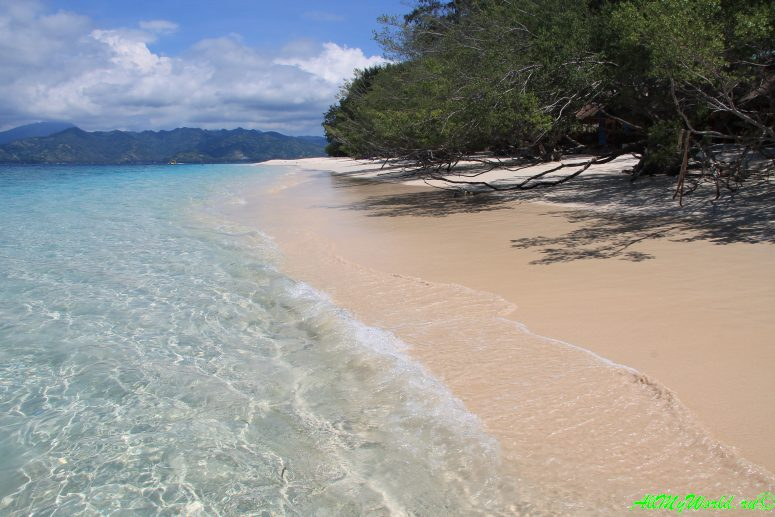 Лучшие пляжи мира - остров Гили-Мено, Индонезия фото