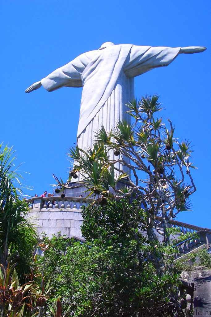 Рио-де-Жанейро статуя Христа-Искупителя