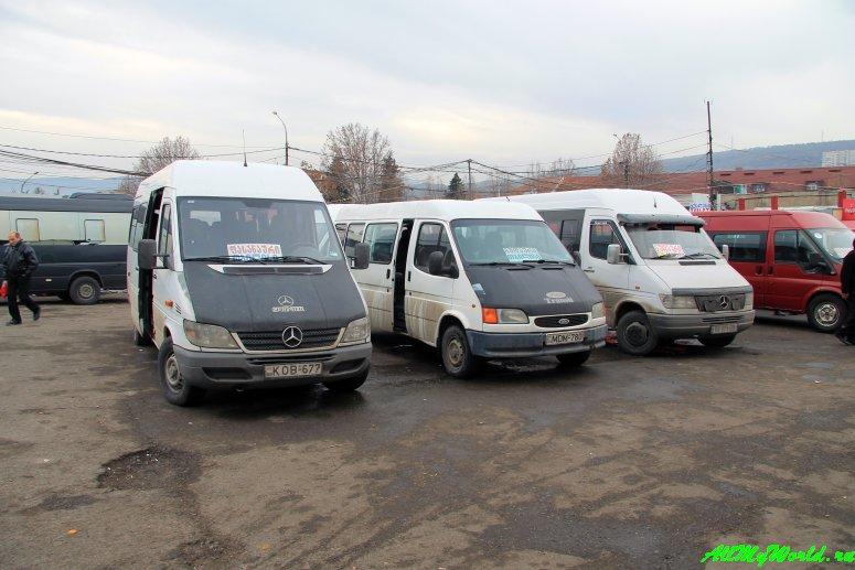 Грузия: транспорт внутри страны - маршрутки