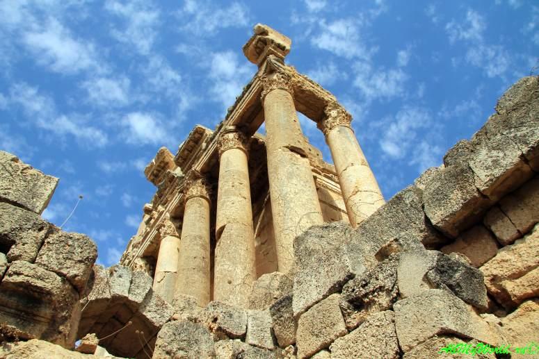 Баальбек Ливан римский храм фото