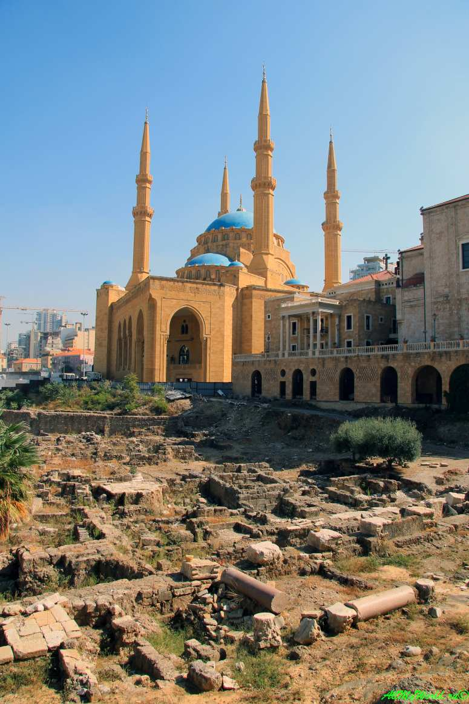 Достопримечательности Бейрута мечеть Аль-Амин
