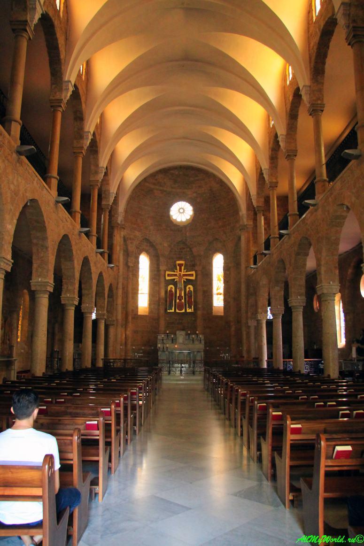 Достопримечательности Бейрута собор Святого Георгия