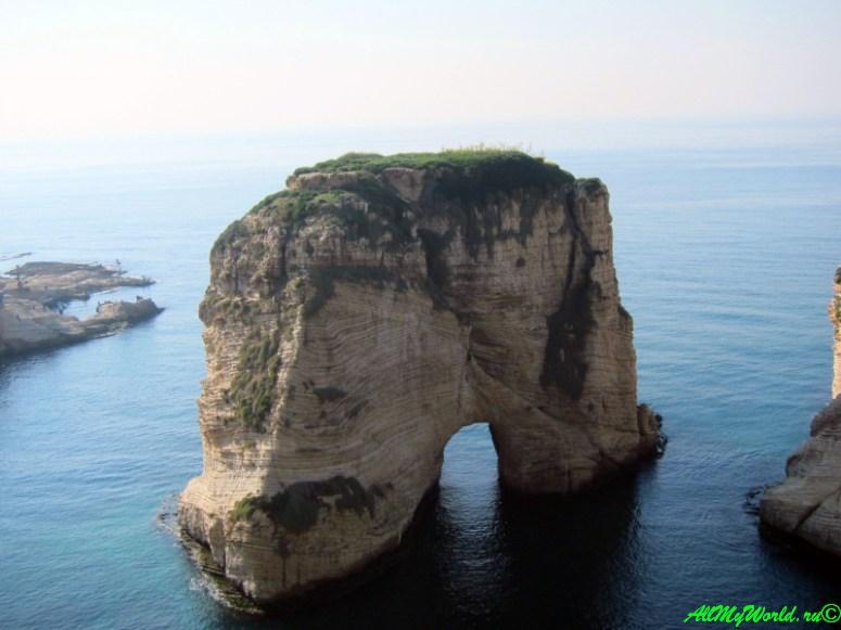 достопримечательности Бейрута - Голубиные скалы