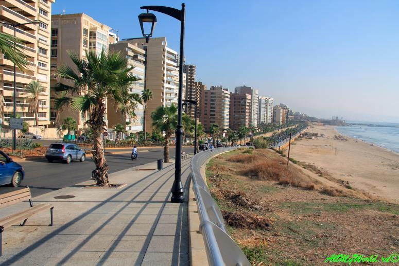 Достопримечательности Бейрута городской пляж