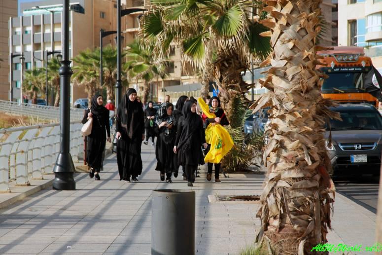 Достопримечательности Бейрута митинг
