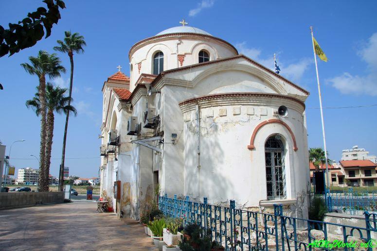 Кипр Ларнака достопримечательности церковь Агия Фанеромени