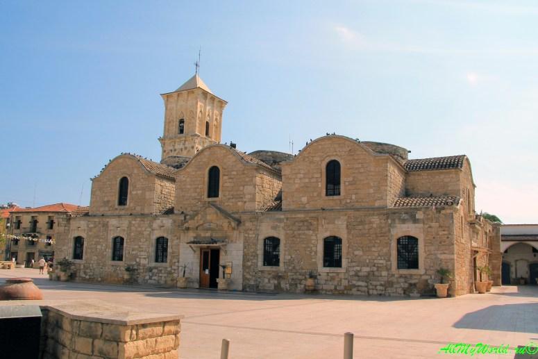 Кипр Ларнака достопримечательности церковь Святого Лазаря