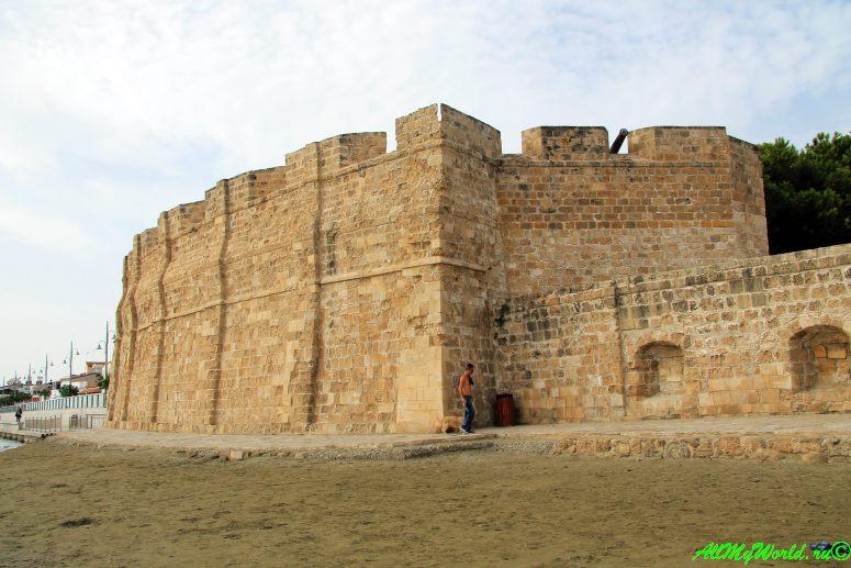 Кипр Ларнака достопримечательности турецкий форт