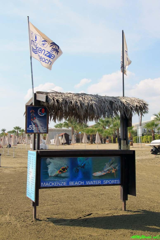 пляжи Ларнаки - пляж Маккензи фото