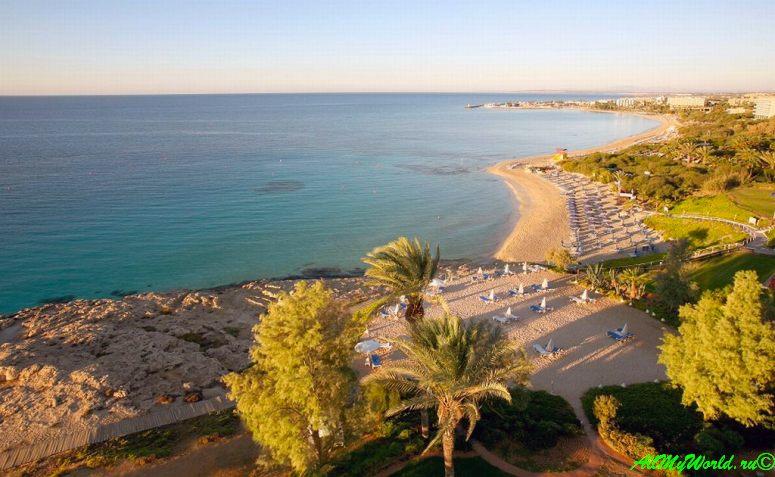 Кипр Айя-Напа - пляж Крио Неро Kriou Nerou фото