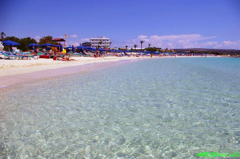 Кипр Айя-Напа - пляж Макрониссос фото