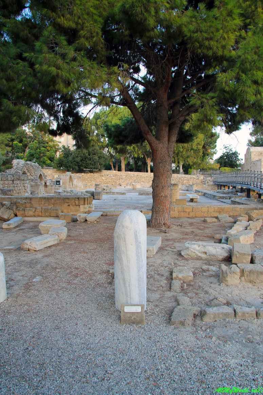 Кипр Пафос достопримечательности фото колонна Святого Павла