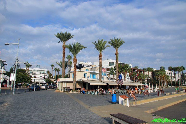 Кипр Пафос набережная фото