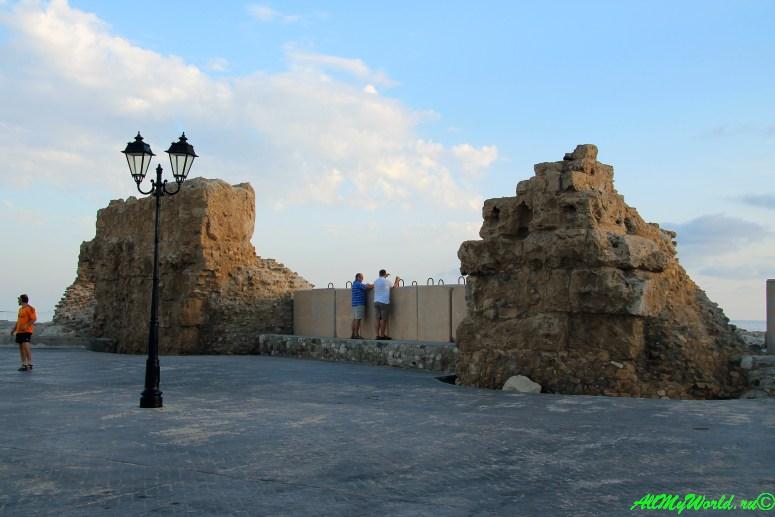 Кипр Пафос достопримечательности фото античная гавань