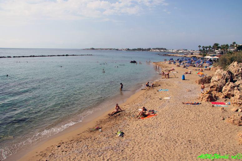 Кипр Пафос пляж фото