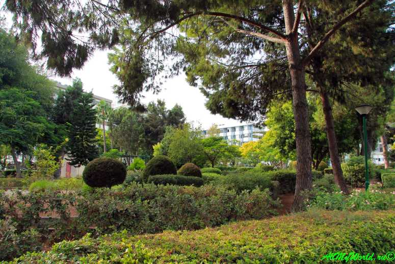 Достопримечательности Лимассола: городские сады