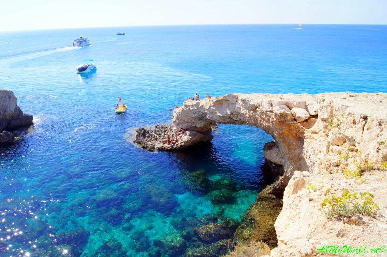 Кипр Протарас мост Влюбленных (мост Удачи) фото
