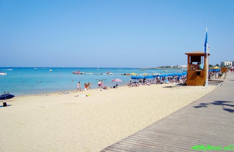 Лучшие пляжи Кипра Протарас фото