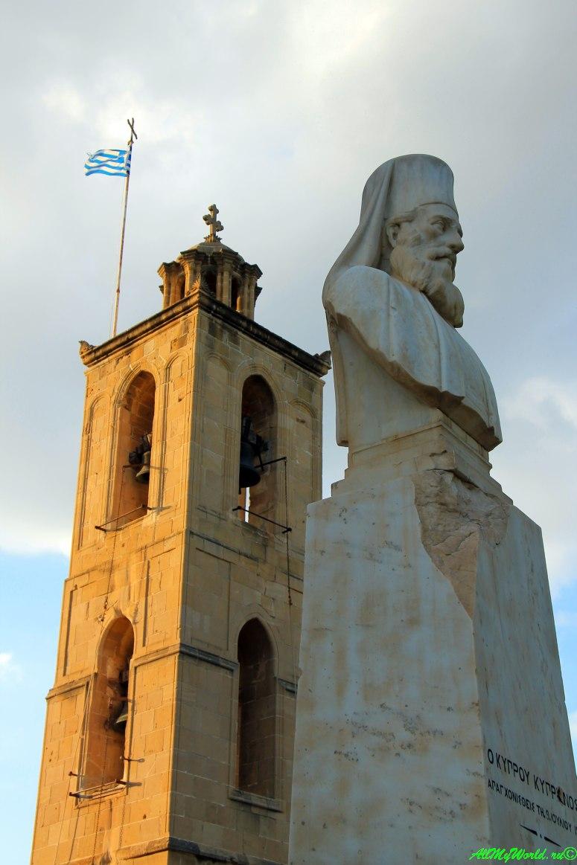 город Никосия, столица Кипра - греческая часть