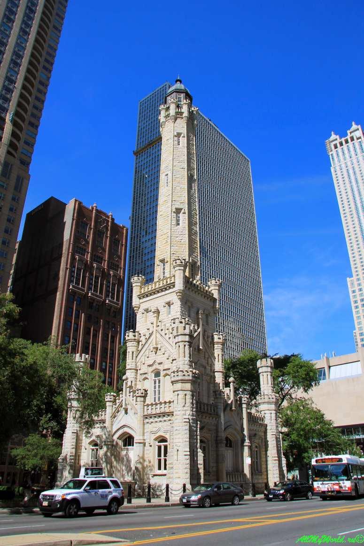 США, город Чикаго: достопримечательности и фото - Водонапорная башня