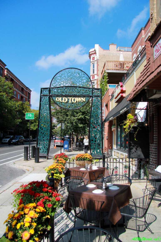 США, город Чикаго: достопримечательности и фото - старый город