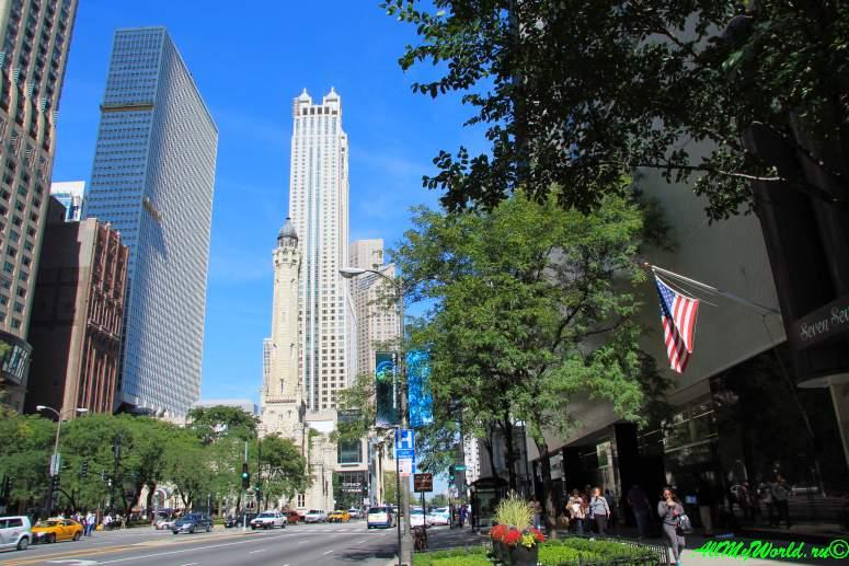 США, город Чикаго: достопримечательности и фото - Великолепная Миля (Magnificent Mile)