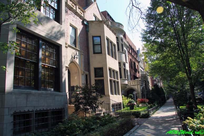 США, город Чикаго: достопримечательности и фото - улица Астор